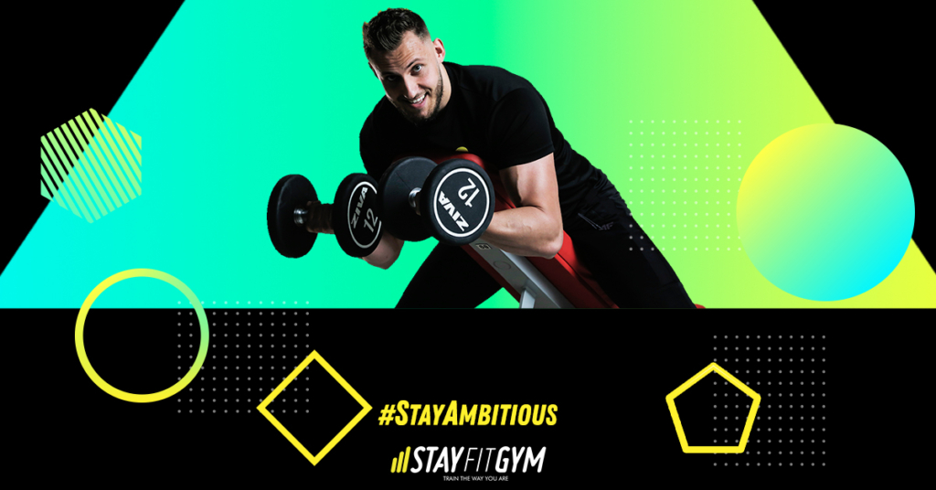 fii ambitios cand vii la sala Stay Fit Gym