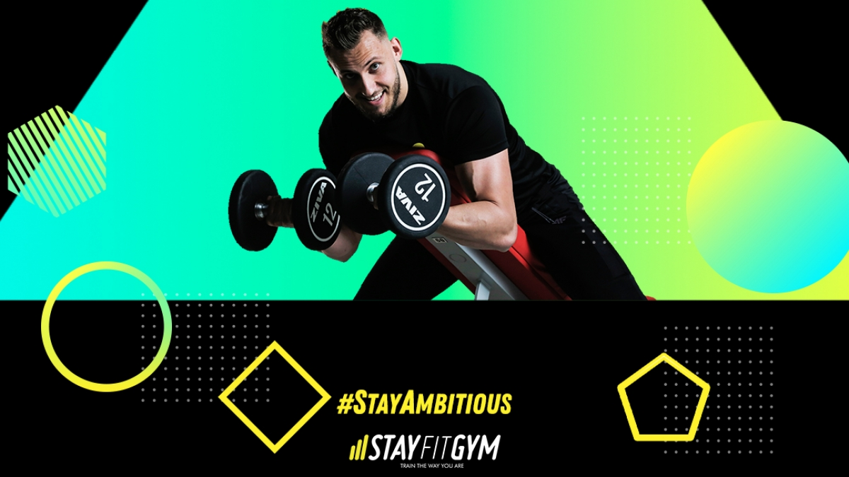 fii ambitios cand vii la sala Stay Fit Gym