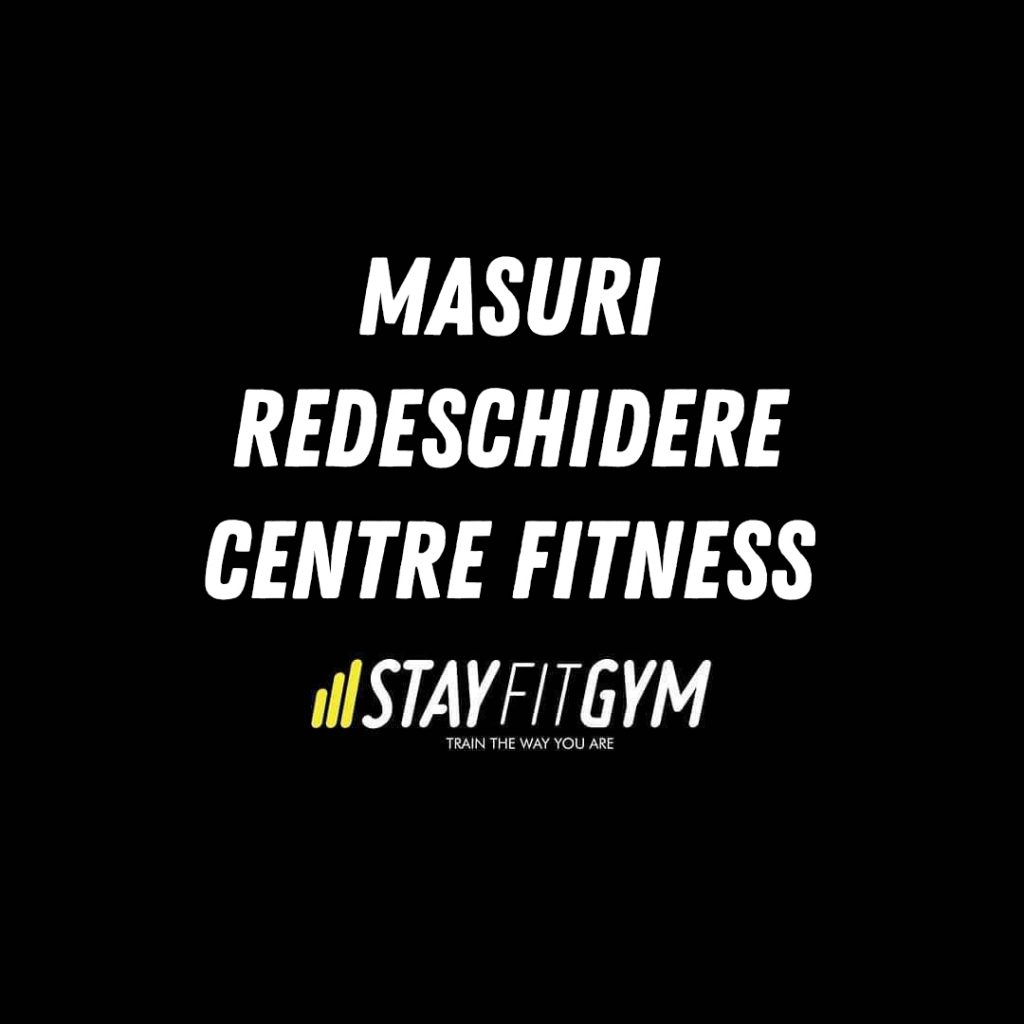 Masuri redeschidere centre fitness