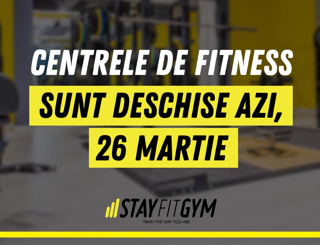 centrele deschise azi anunt sali fitness mobil