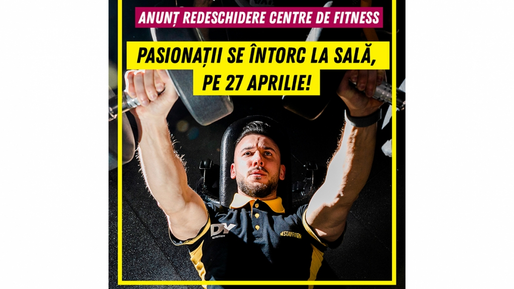 Redeschidere centre de fitness