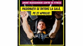 Redeschidere centre de fitness