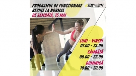 program de functionare site