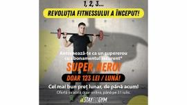 Revolutia fitnessului abonament superhero stay fit gym